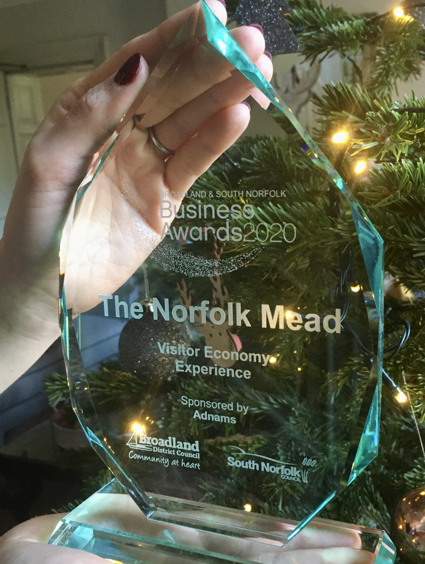 The Norfolk Mead win Visit Economy Experience 2020