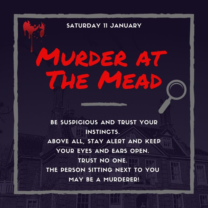 Norfolk Mead Murder Mystery Event