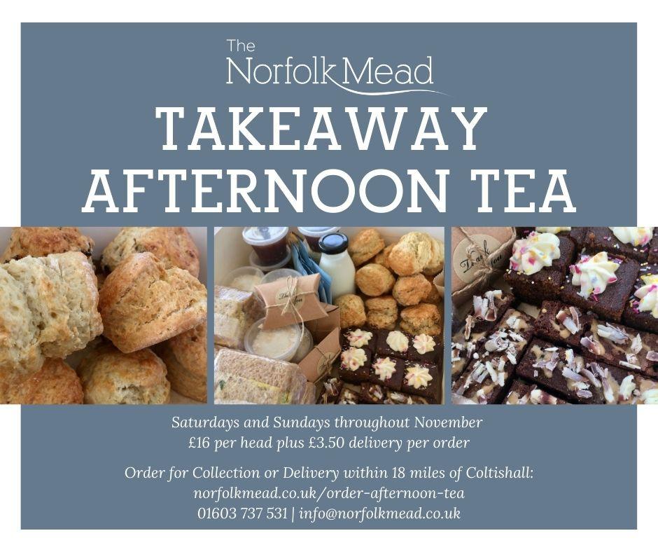 Takeaway Afternoon Tea November 2020