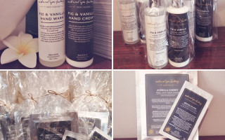 Add gorgeous Natural Spa Factory luxury skin care products to your Takeaway Afternoon Tea order