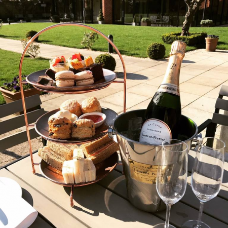 Afternoon Tea | Walled Garden | The Norfolk Mead