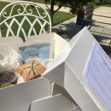 June Afternoon Tea Delivery Menu Launch