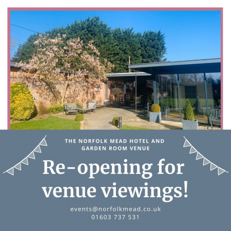Venue Viewings at The Norfolk Mead